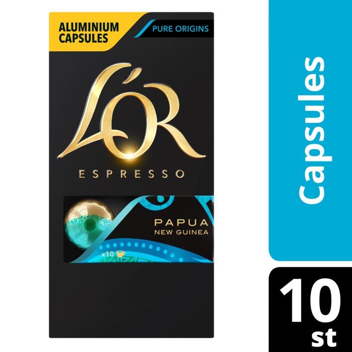 Espresso capsules papua new guinea (10 × 5.2g)