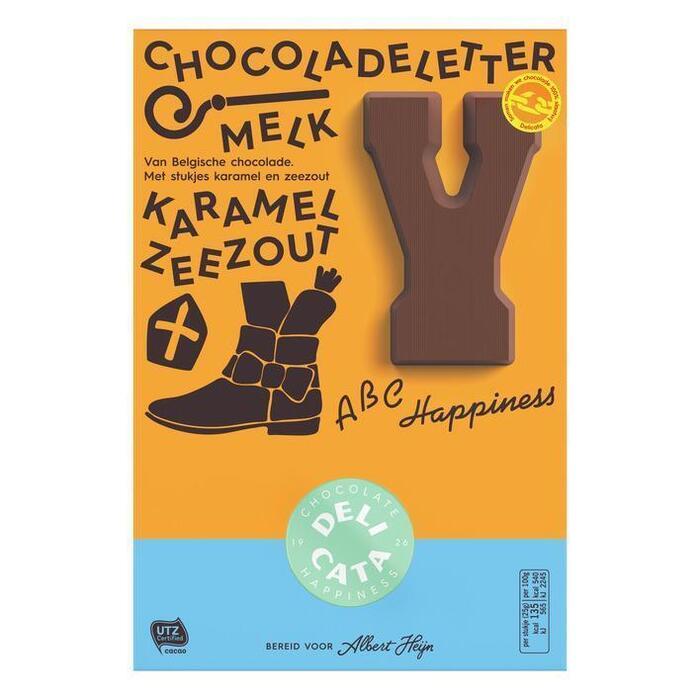 Delicata choc melk karamel zeezout (175g)