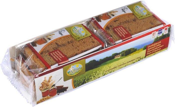 Ontbijtkoek (per stuk) (10 × 24g)