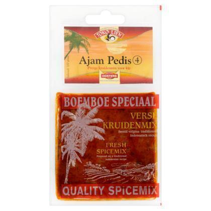 Kruidenmix voor Ajam Pedis (zak, 100g)
