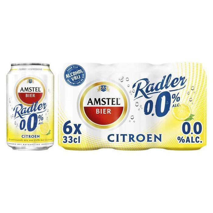 Amstel 0.0% Radler (rol, 33cl)