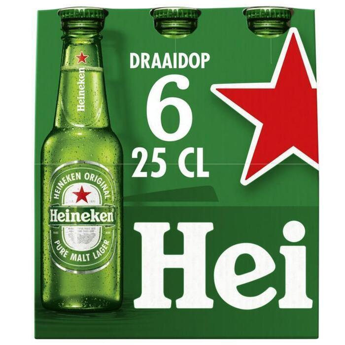 Heineken Premium Quality (rol, 6 × 250ml)
