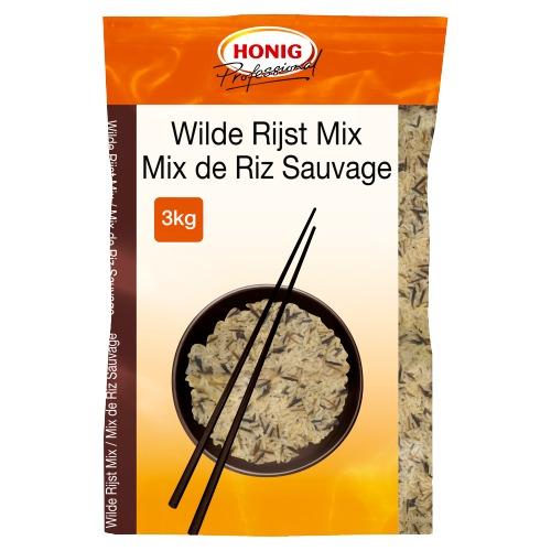 Honig Professional Rijst Wilde Mix 3 kg Zak (3kg)