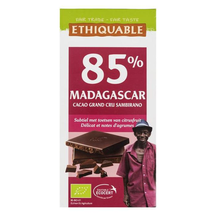 Fair Trade, 85% Madagascar Cacao Grand (100g)