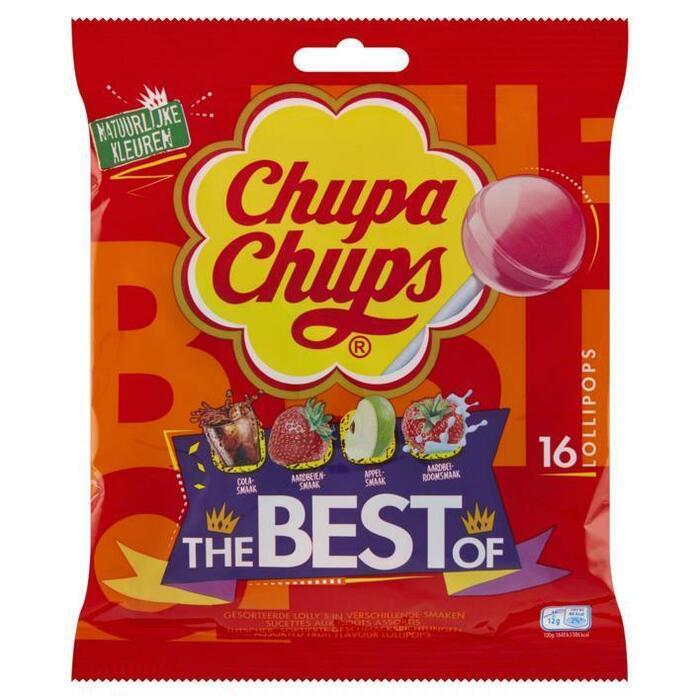 Chupa Chups Lollipops The Best Of 16 Stuks 192 g (Stuk, 192g)