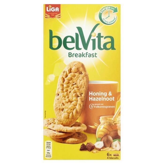 Belvita Breakfast Honing & Hazelnoot (300g)