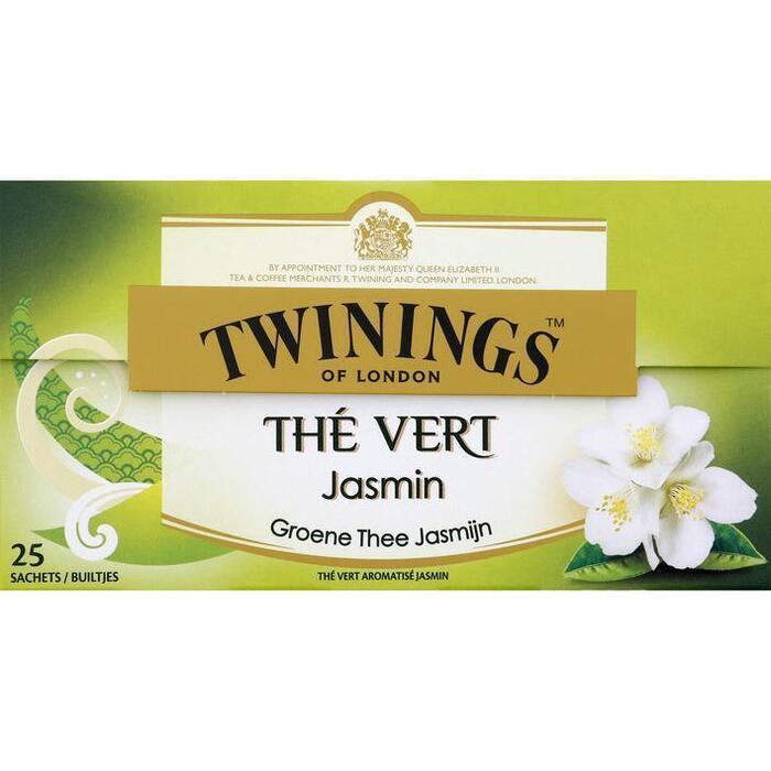 Twinings Groene jasmijn thee (25 × 40g)