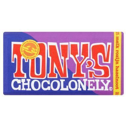 Tony's Chocolonely Melk rozijn hazelnoot (180g)