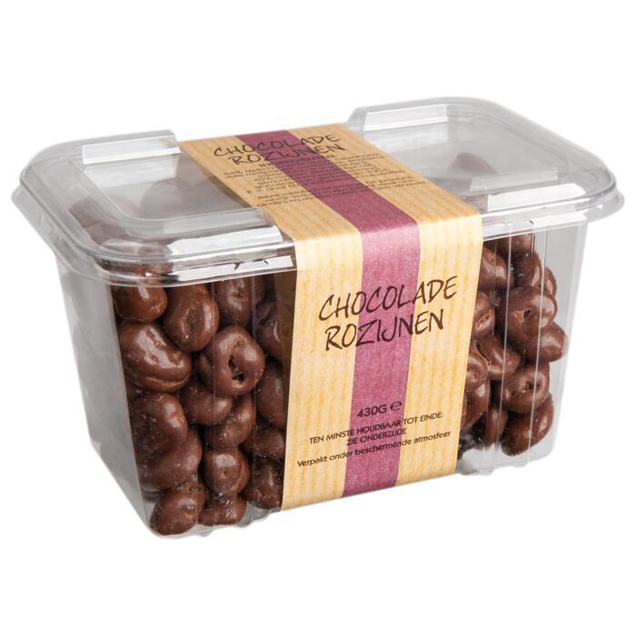 Chocoladerozijnen (390g)