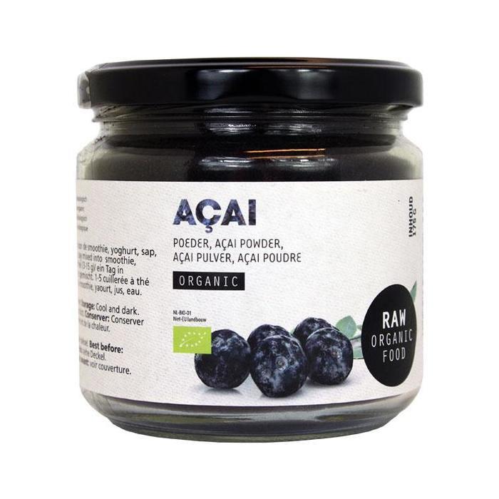 Raw Organic Food Açai Poeder Organic 175g (175g)