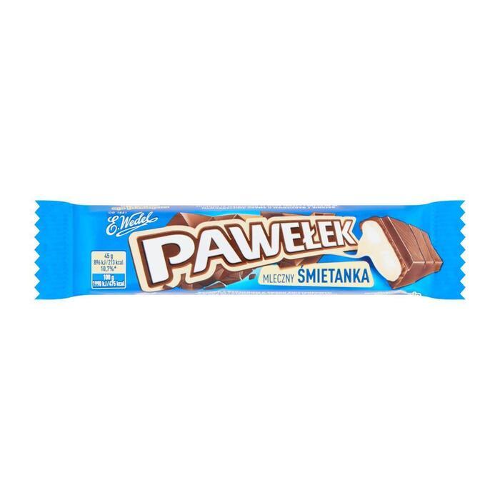 E. Wedel Chocoladereep gevuld (45g)