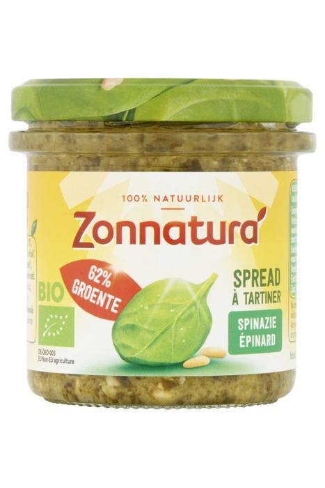 Groentespread spinazie (135g)