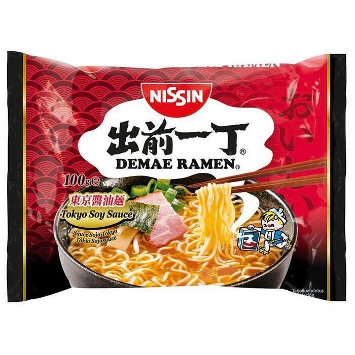 Nissin Demae ramen Tokyo soja saus (100g)