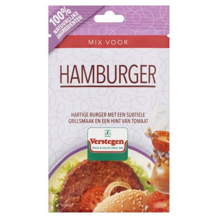 Verstegen Mix voor Hamburger 30 g (30g)