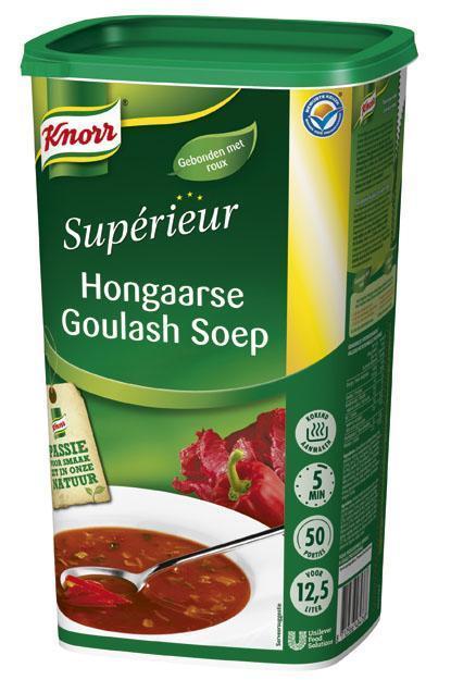 Knorr Supérieur Hongaarse Goulashsoep (6 × 1.2kg)