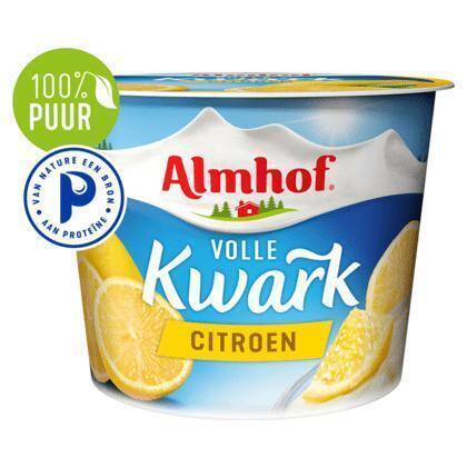 Volle kwark citroen (Stuk, 500g)