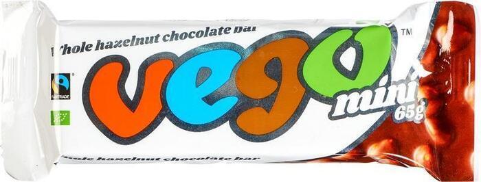 Whole hazelnut chocolate bar (65g)