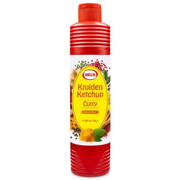 Curry Kruiden Ketchup Original (knijpfles, 0.8L)