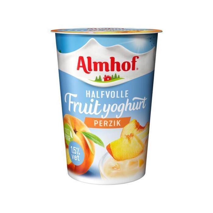 Halfvolle Yoghurt Perzik (pak, 500g)