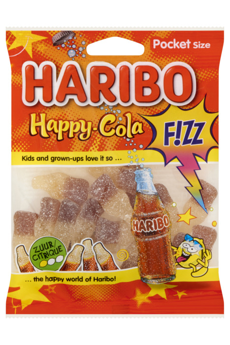 Haribo Happy-Cola F!ZZ Pocket Size 70 g (70g)