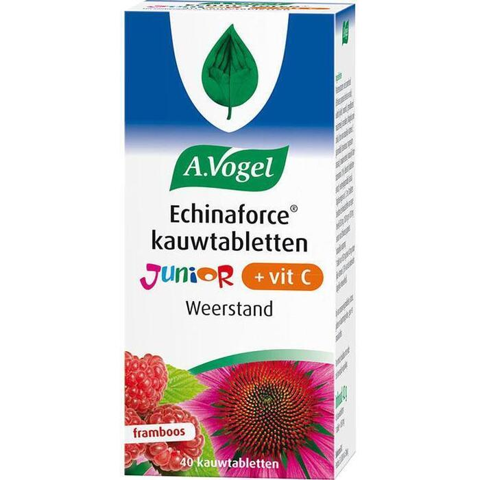 Echinaforce jr. kauwtablet met vitamine C (40 st.)