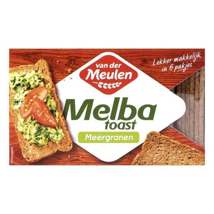 Van der Meulen Melba toast meergranen (120g)