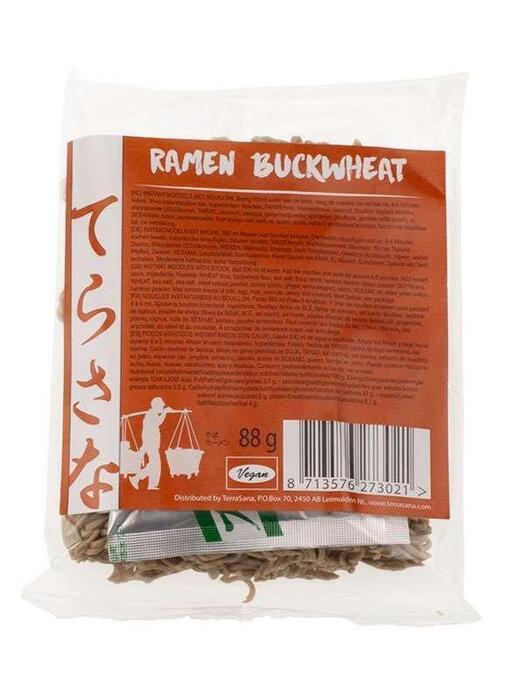 Noodles Ramen boekweit TerraSana 88g (88g)