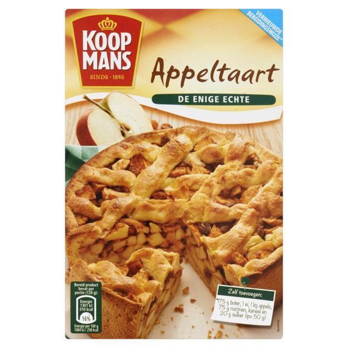 Mix voor appeltaart new (Stuk, 440g)