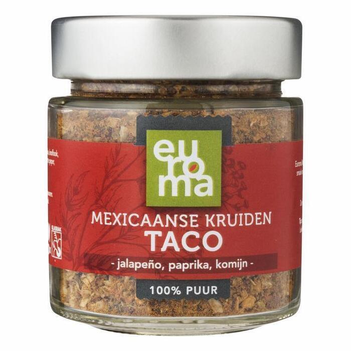 Euroma Mexicaanse taco kruiden (62g)