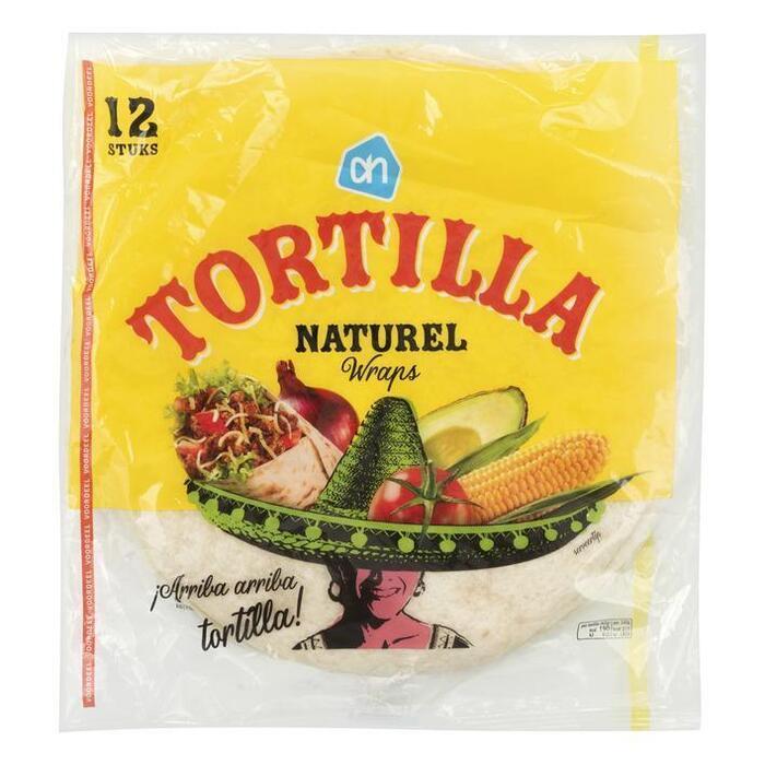 AH Tortilla wraps voordeel
