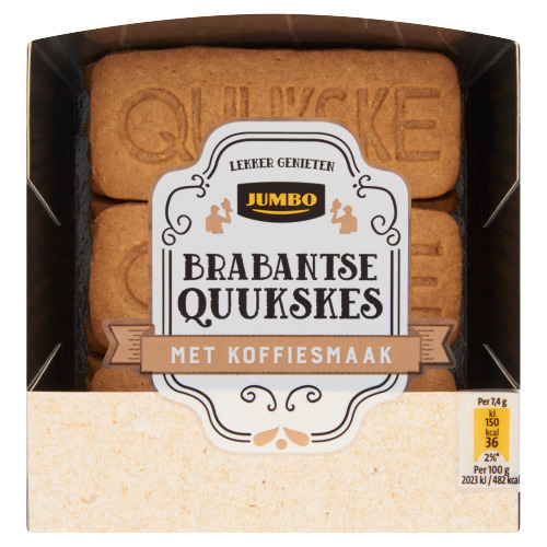 Jumbo Brabantse Quukskes met Koffiesmaak 140 g (140g)