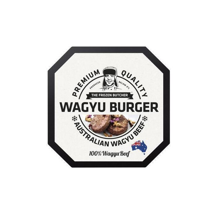 The Frozen Butcher Wagyu burger 100% wagyu beef (2 × 125g)