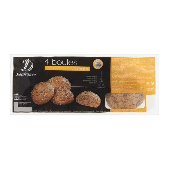 4 Boules Céréales (zak, 260g)