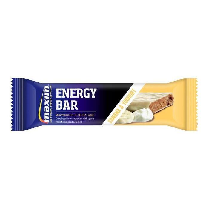 Banana & yoghurt energy bar (55g)