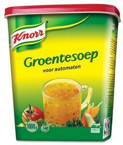 Knorr Soep Automaat Groenten 1KG 6x (6 × 1kg)