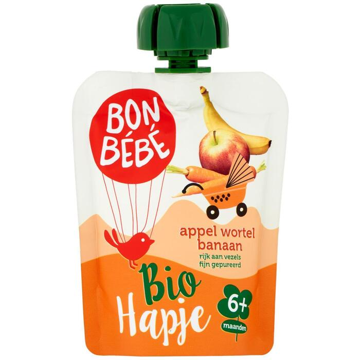 Bonbébé Pouch appel-wortel-banaan (90g)