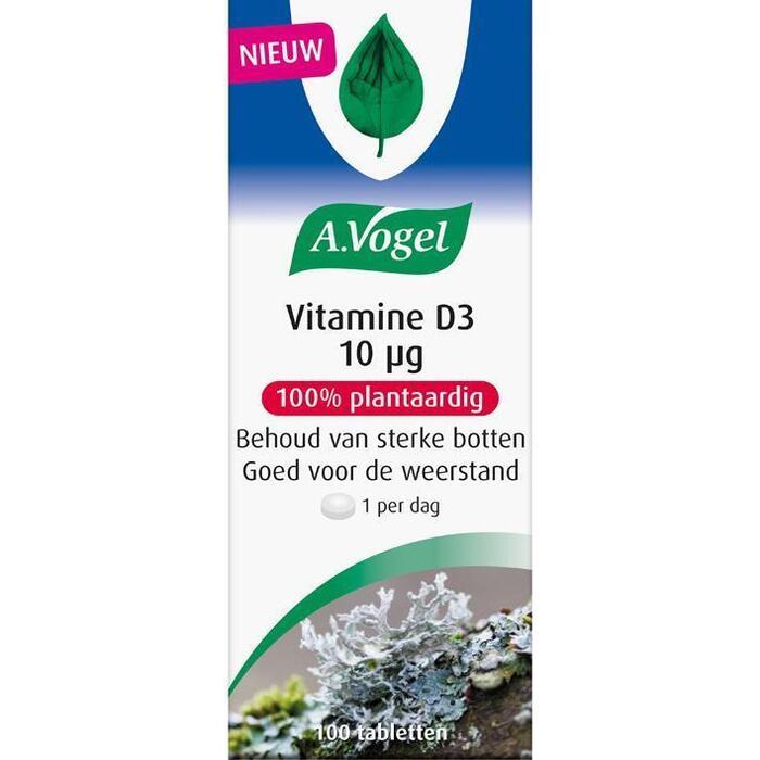 Vitamine D3 10 µg (tabletten)