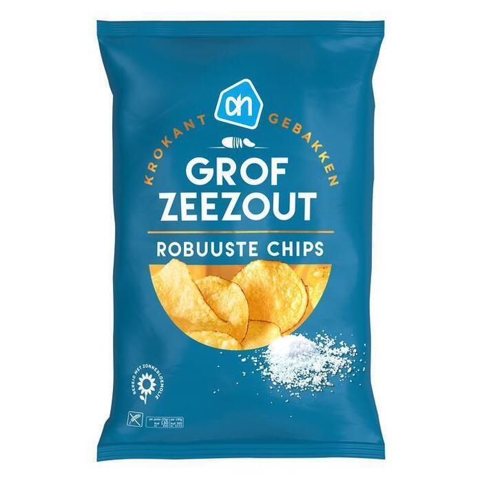 AH Robuuste chips zeezout (150g)