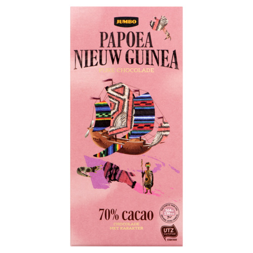 Jumbo Pure Chocolade Papoea Nieuw Guinea 100 g (100g)