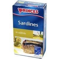 Princes, Sardines in olijfolie, MSC (blik, 120g)