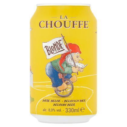 La Chouffe 33cl blik (rol, 33 × 33cl)