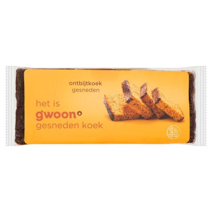 Ontbijtkoek naturel gesneden (350g)