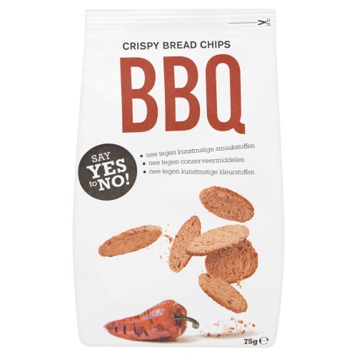 SYTN Toasted Bread Chips - Texas BBQ (75g)
