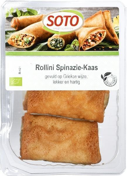 Rollini spinazie-kaas (bak, 150g)