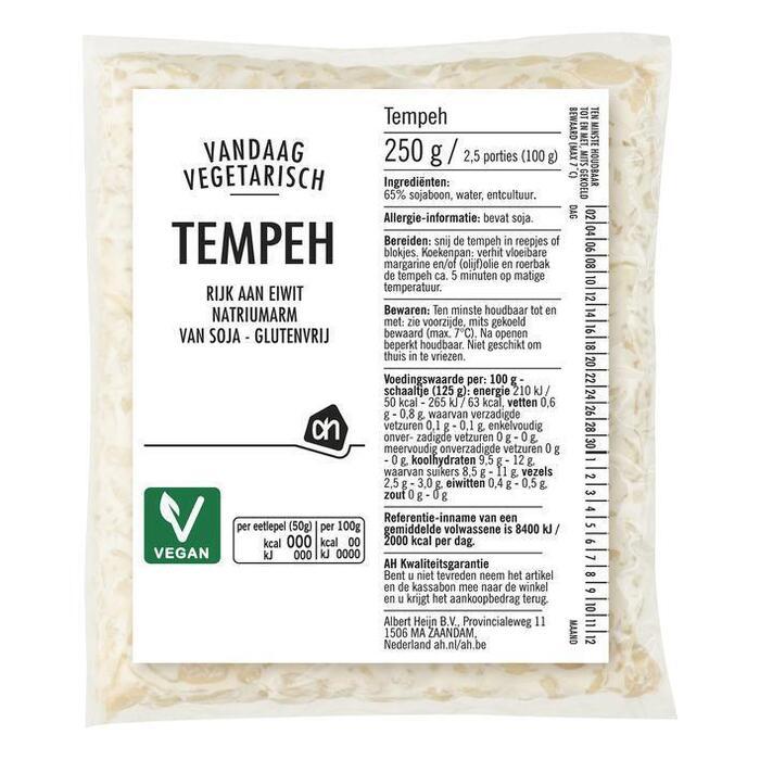 Tempeh (zak, 250g)