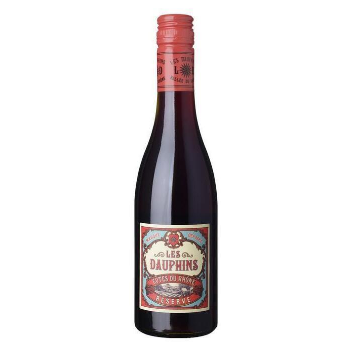 Les Dauphins Côtes du Rhône rouge (37.5cl)
