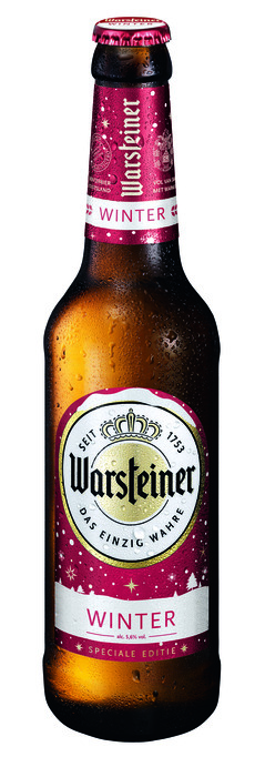 WARSTEINER WINTER FL (rol, 33 × 33cl)