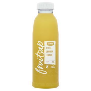 Jumbo Fruitsap Appel Gember Limoen 500 ml (0.5L)