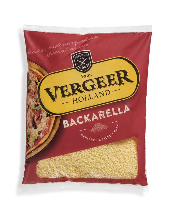 Vergeer Holland Kaas 45+ Geraspt Backarella 1kg (1kg)
