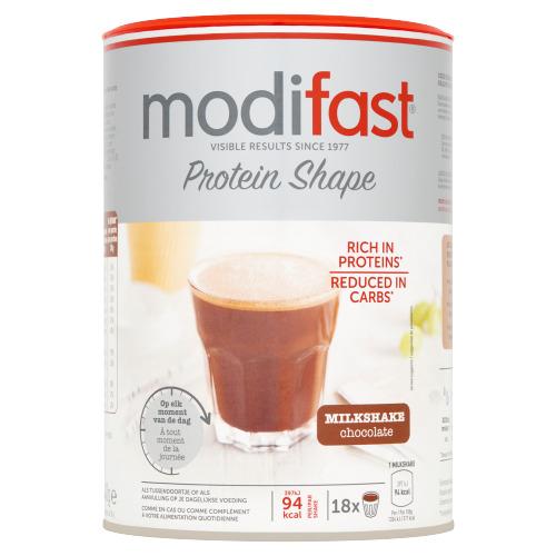 ProtiPlus Milkshake Chocolade Smaak (blik, 540g)